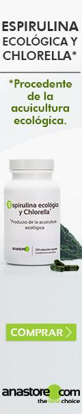 Espirulina ecológica y Chlorella*