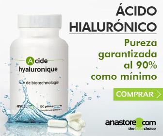 Ácido hialurónico, producto de biotecnología