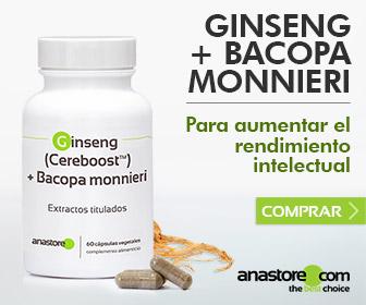 Ginseng (Cereboost™) + Bacopa monnieri