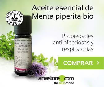 Aceite esencial Menta piperita Bio