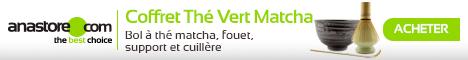 Coffret thé vert Matcha