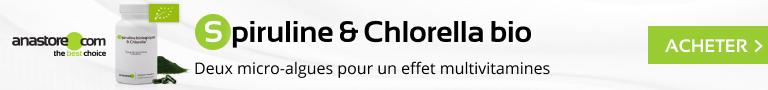 Spiruline & Chlorella biologiques
