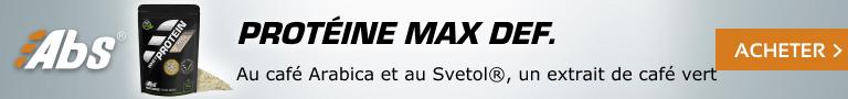 Protéine Max Definition