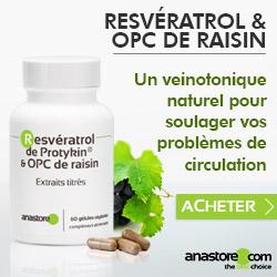 Resvératrol & OPC de raisin