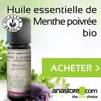 Huile essentielle Menthe poivrée Bio Anastore