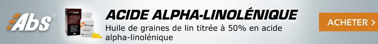 Acide alpha-linolénique (ALA)