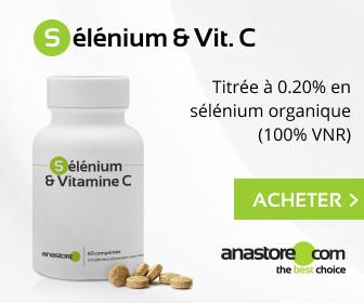 Levure de sélénium & Vit. C