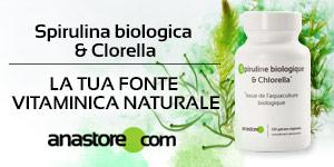 Spirulina biologica & Clorella*
