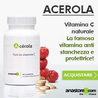 Acerola BIO - Vitamina C naturale